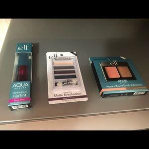E.l.f. LipTint, Eyeshadow, Blush & Bronzer